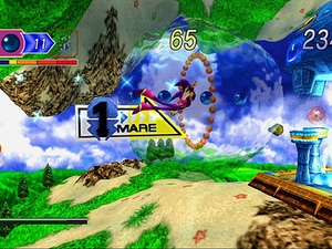 'NiGHTS into Dreams HD' screenshot