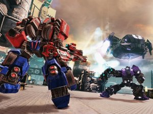 Screenshot of the Transformers: Fall of Cybertron game