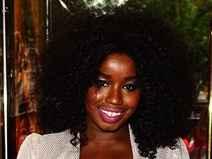 Misha B at the UK premiere of 'Katy Perry: Part of Me' in Leicester Square
