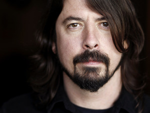 Dave Grohl portrait, January 2012