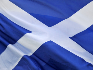 Image of the Scottish flag