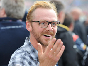 Silverstone Grand Prix: Simon Pegg