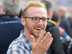 Silverstone Grand Prix: Simon Pegg