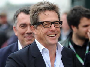 Silverstone Grand Prix: Hugh Grant