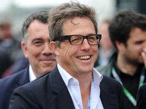 Silverstone Grand Prix: Hugh Grant