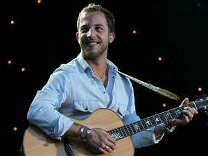 James Morrison performing at Kew Gardens on the fifth night of 'Kew The Music'.