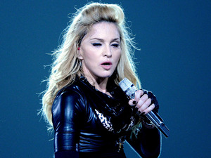 Madonna performs on the first night of her two sold out concerts of the MDNA Tour 2012 at the Ziggo Dome in Amsterdam.