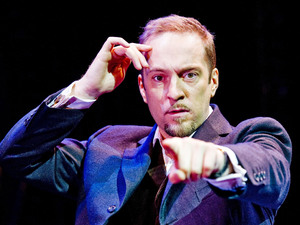 Derren Brown stars in his new show Svengali at the Shaftesbury Theatre in London