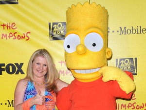 Nancy Cartwright at the Simpsons Treehouse Of Horror XX and 20th anniversary party held at the Barker hangar in Santa Monica California, USA - 18.10.