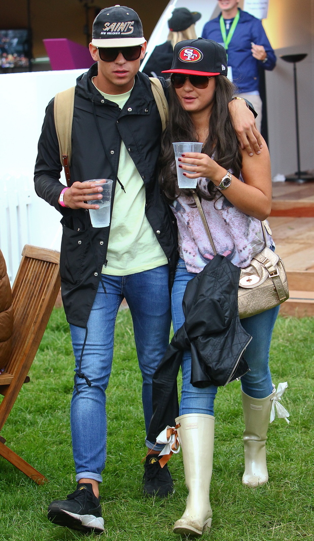 Barclaycard Wireless Festival 2012: Joey Essex and Sam Faiers