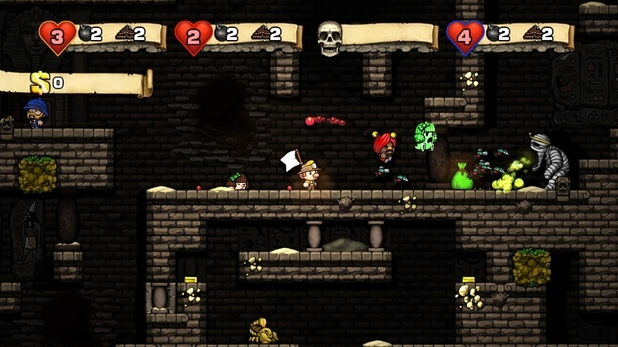 'Spelunky' screenshot