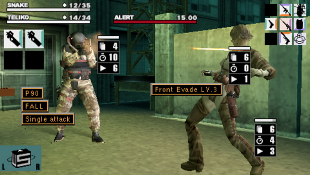 Metal Gear Ac!d for PSP (2005)