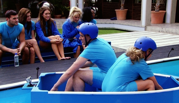 Big Brother 2012 - day 31: Lauren and Luke A