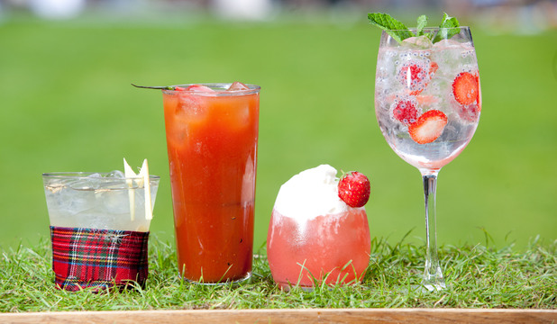 Broadgate's Wimbledon-themed cocktails
