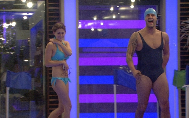 Big Brother 2012 - day 31: Conor and Sara