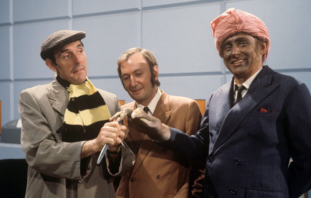 Eric Sykes, Johnny Speight and Spike Milligan 