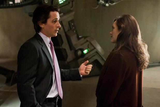 Christian Bale Marion Cotillard Dark Knight Rises