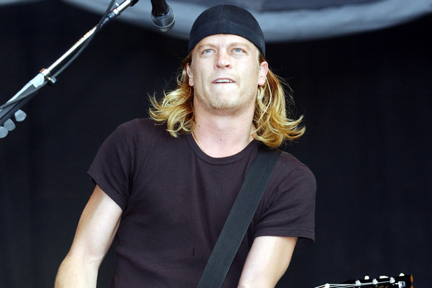 Puddle of Mudd singer Wes Scantlin