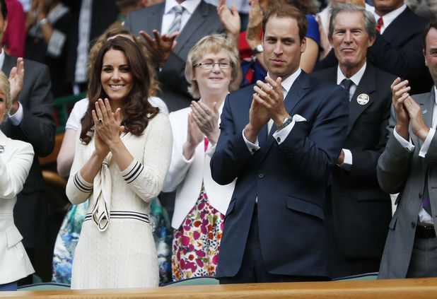 Prince William, Duchess of Cambridge, Wimbledon