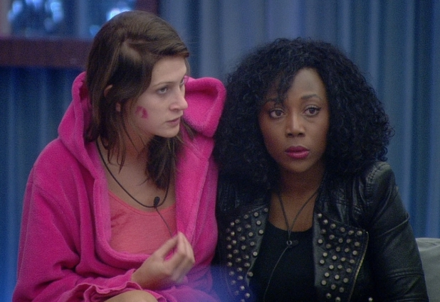 Big Brother 2012 - day 27: Shievonne and Ashleigh