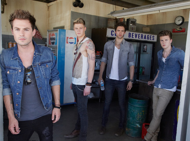 Behind the scenes of Lawson's new music video 'Taking Over Me'
