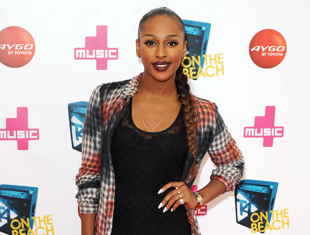 Alexandra Burke at T4 On The Beach 2012.