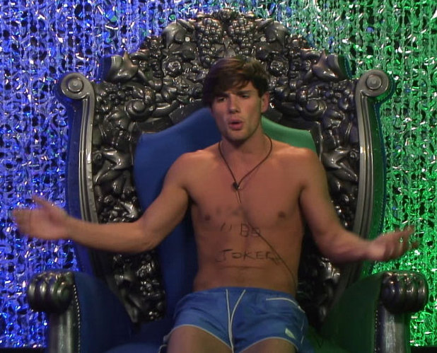 Big Brother 2012 - day 27: Arron