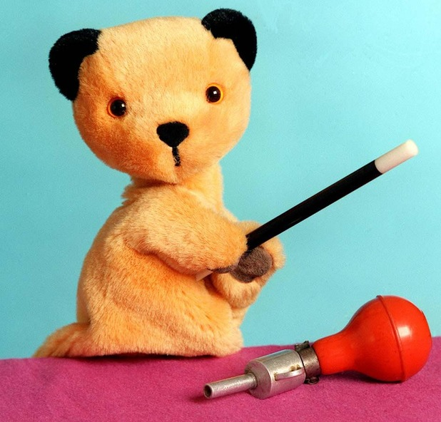 Image of puppet children's favourite Sooty, 1996