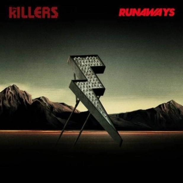 Artwork for the Killers 'Runaways' single
