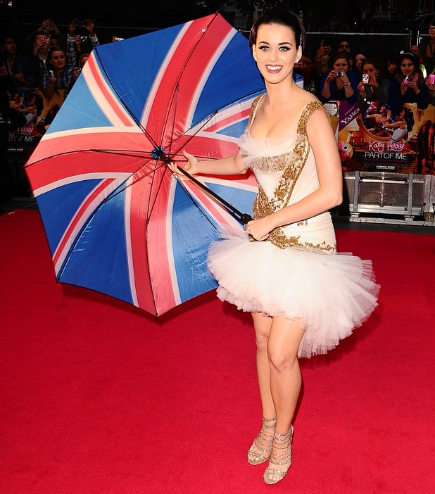 Katy Perry at the UK premiere of her debut film &#39;Katy Perry: Part of Me&#39; in Leicester Square