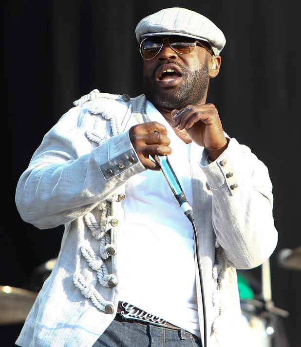 Wireless Festival 2012: Black Thought of The Roots.