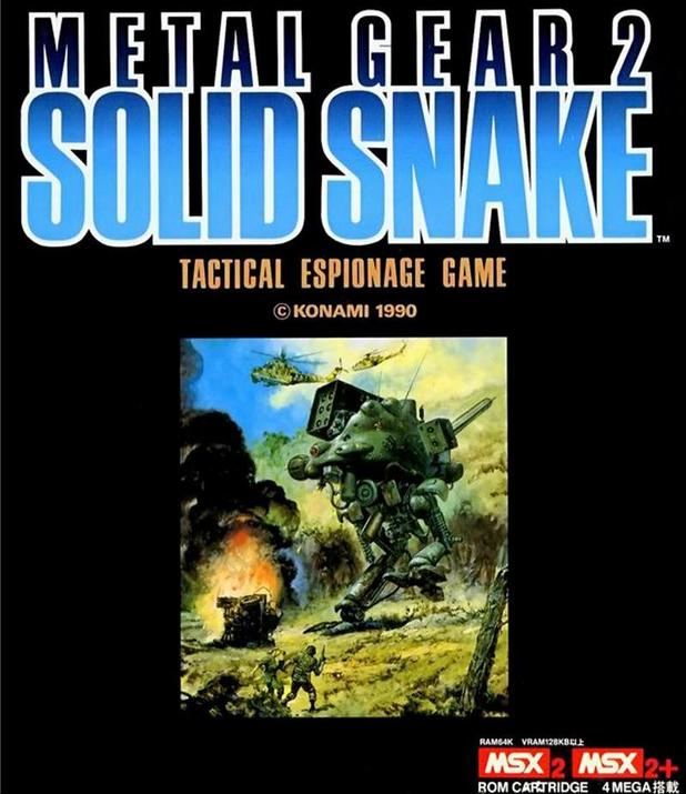 That same year a direct sequel was released, titled Metal Gear 2: Solid Snake (1990)