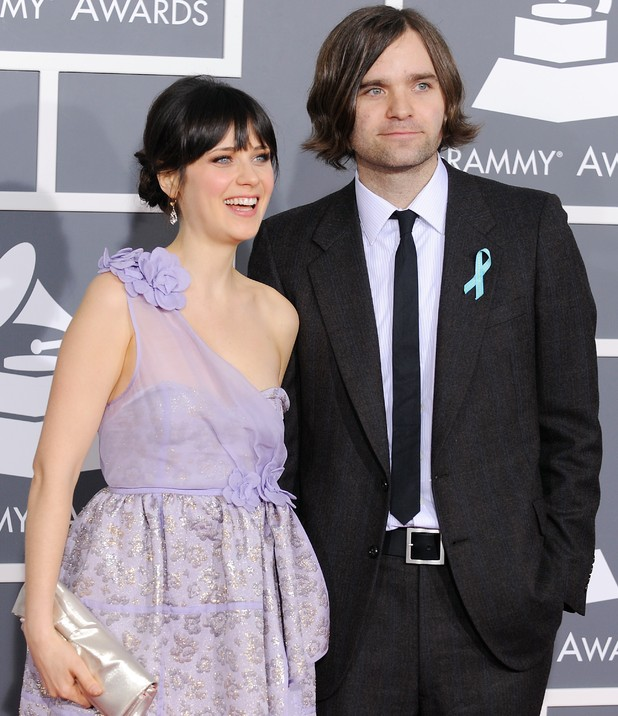 Zooey Deschanell and Ben Gibbard