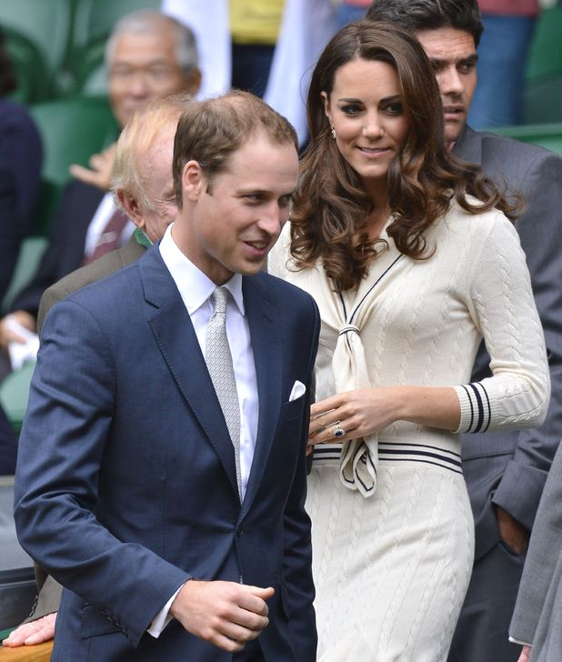 Catherine Duchess of Cambridge and Prince William, Wimbledon