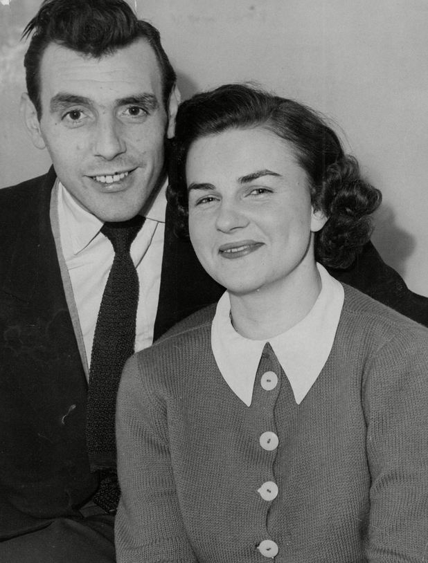 Eric Sykes and his wife Edith Milbradt