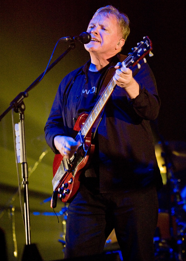 T in the Park: Bernard Sumner of New Order.