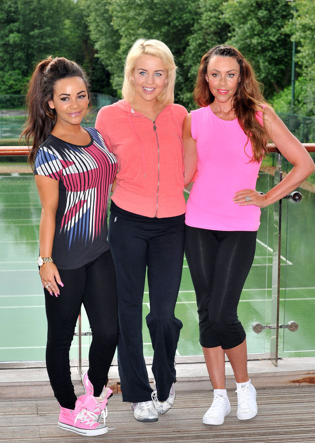 Chelsee Healey, Michelle Heaton, Lydia Bright