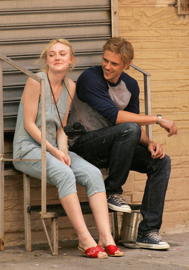 Dakota Fanning and Boyd Holbrook