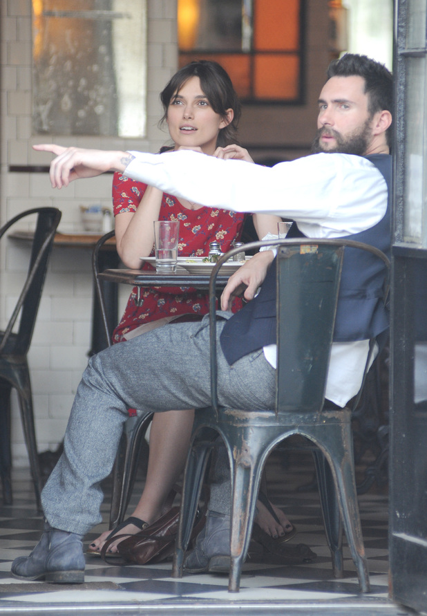Keira Knightley, Adam Levine
