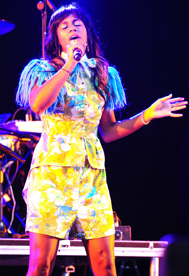 Wireless Festival 2012: Santigold.