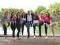 Virgin London triathlon celeb team - pics