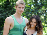 Luke Mitchell and Rebecca Breeds as Romeo Smith and Ruby Buckton in Home and Away