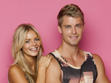 Samara Weaving and Luke Mitchell as Indi Walker and Romeo Smith in Home and Sway