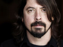 The Foo Fighters frontman recorded drums for the up-and-coming act.