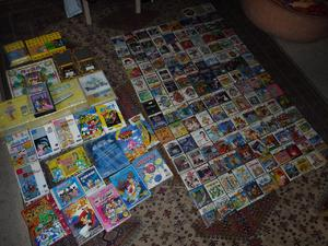 Large video game collection for sale on eBay