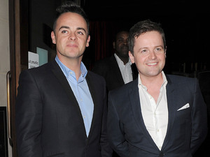 Anthony McPartlin and Declan Donnelly aka Ant & Dec ITV 'Summer' Party, held at Aqua Restaurant - Arrivals. London, England