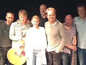 Kylie Minogue and Jason Donovan in PWL rehearsals.