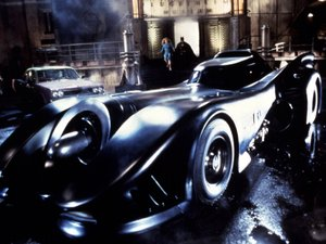 Tim Burton&#39;s revamped Batmobile 