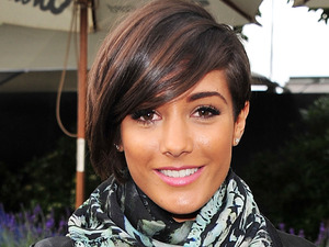 Frankie Sandford of the Saturdays attends the Barclaycard Unwind Lounge at Day 2 of the O2 Wireless festival