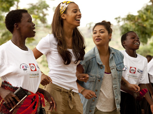 The Saturdays' Rochelle and Vanessa visit Tanzania for Comic Relief to meet girls forced into early marriage and pregnancy who are now being helped by Comic Relief and the UK Government's Common Ground Initiative.
